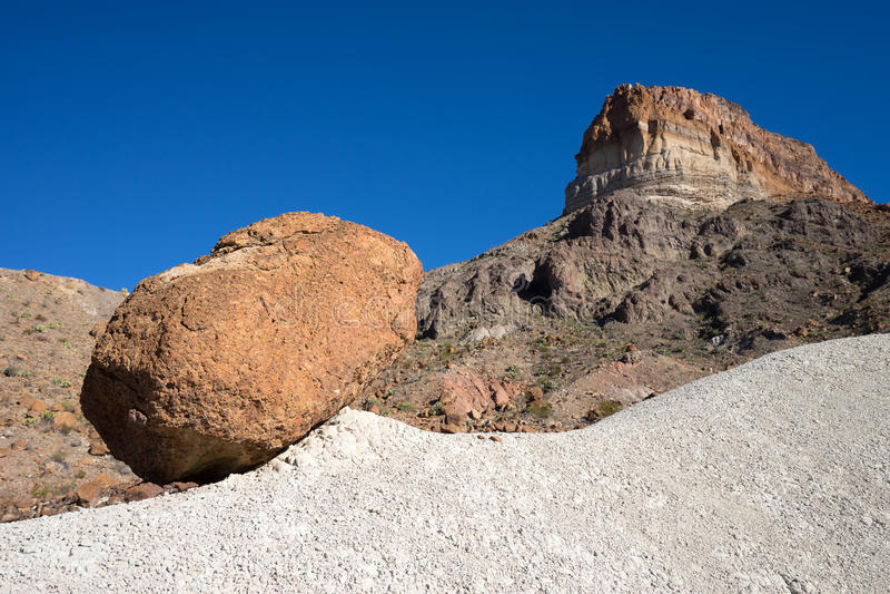 Большая геология национального парка загиба стоковые изображения rf