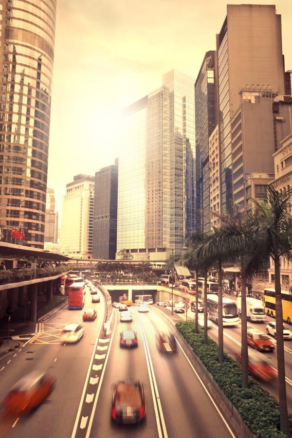 Большая городская жизнь стоковая фотография