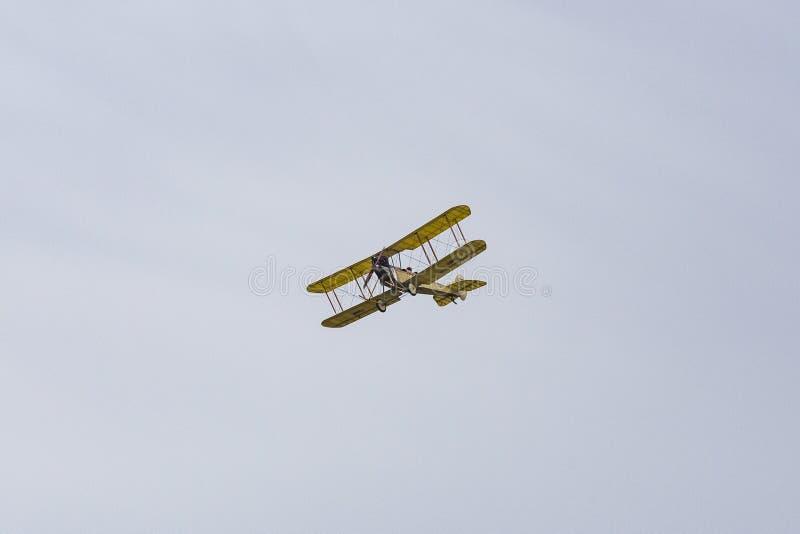 Большая команда дисплея войны, королевская фабрика BE2c воздушных судн стоковые фото