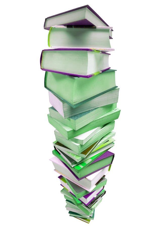 большая куча книг стоковое изображение rf