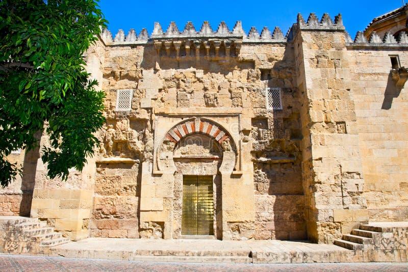 Большая мечеть (в настоящее время католический собор) в Cordoba стоковые фото