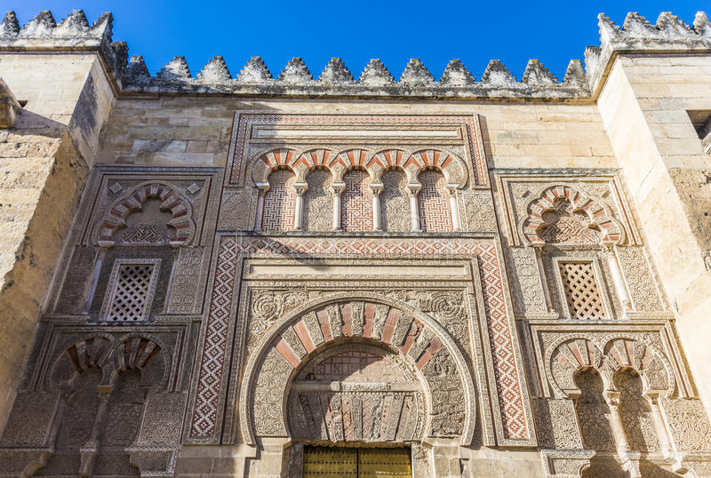 Большая мечеть Cordoba, Андалусии, Испании стоковое фото rf