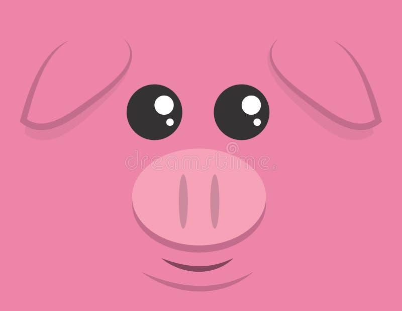 Большая сторона свиньи бесплатная иллюстрация
