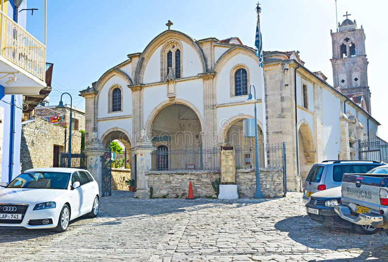 Большая церковь стоковое фото rf