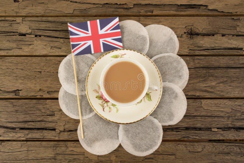 Большие британцы Cuppa стоковое фото