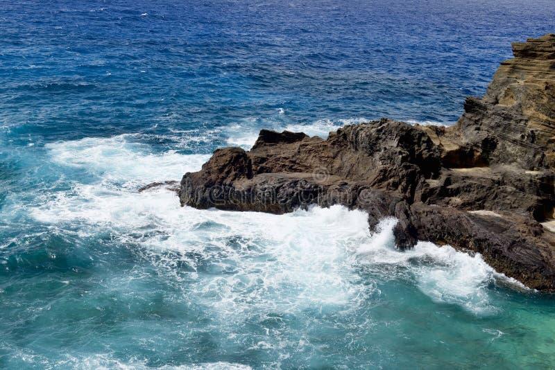 Большие голубые Гаваи стоковые фотографии rf