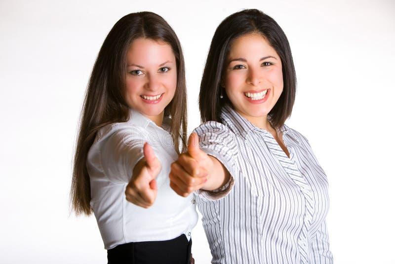 Большие пальцы руки вверх! стоковая фотография