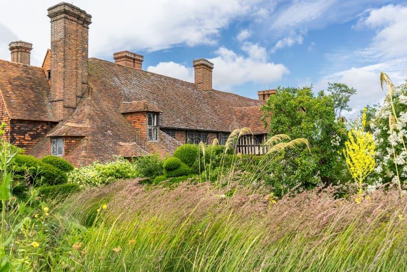 Большие сады и питомник дома Dixter стоковое фото