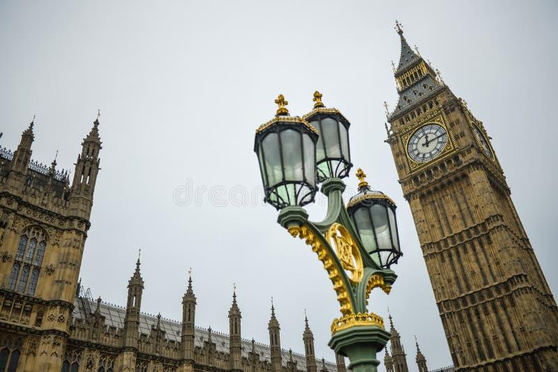 Большое Бен, мост Англия Лондона стоковая фотография