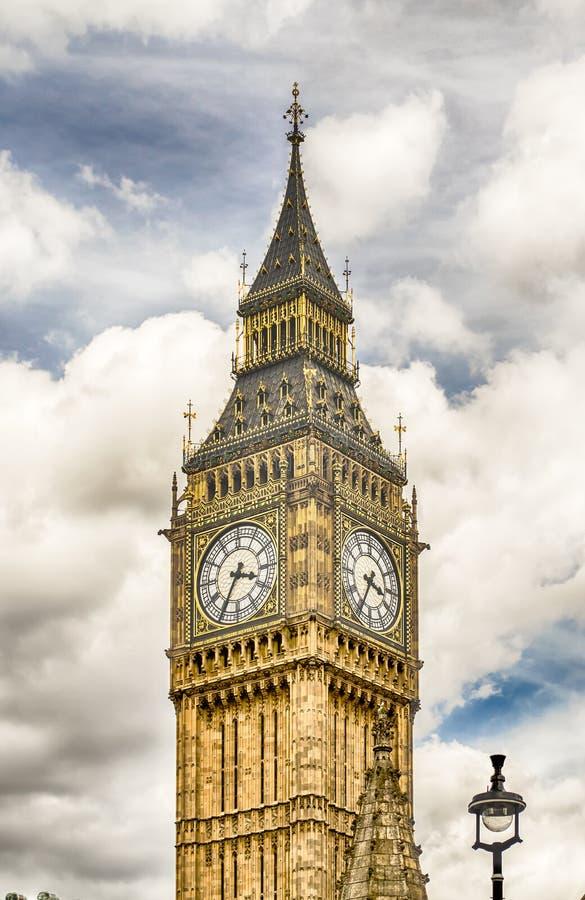 Большое Бен, парламент Великобритании, Лондон стоковая фотография