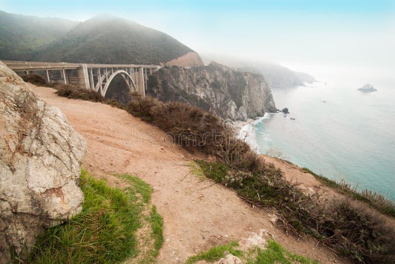 Большое Sur Калифорния, США стоковое фото rf