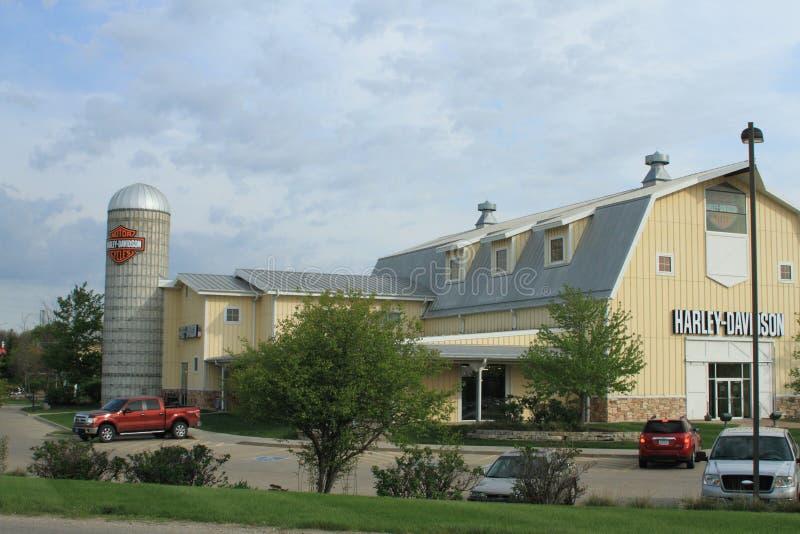 Большой амбар Harley Davidson, Des Moines, Айова стоковое фото