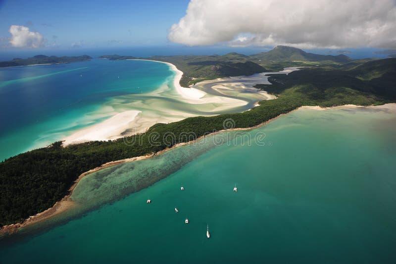 Большой барьерный риф в Австралии стоковое фото rf