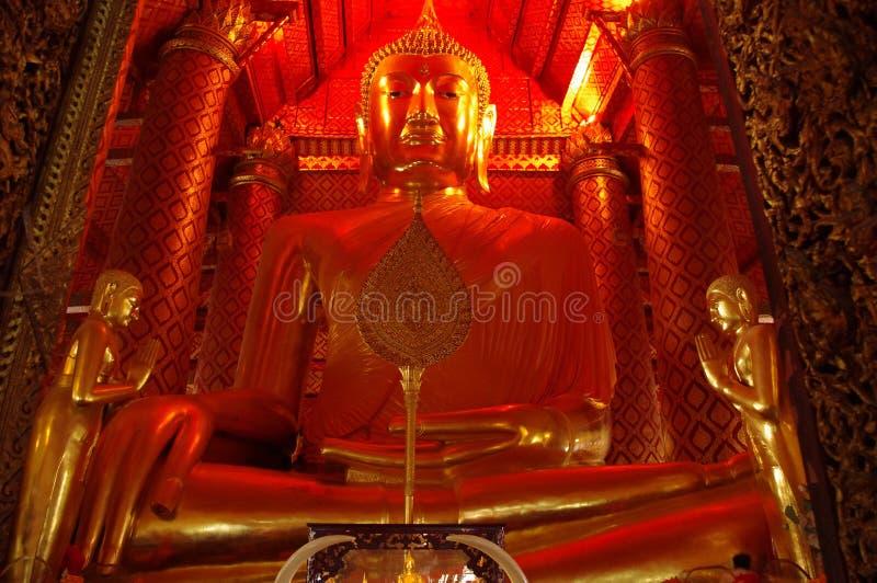 Большой Будда в Таиланде стоковое изображение rf