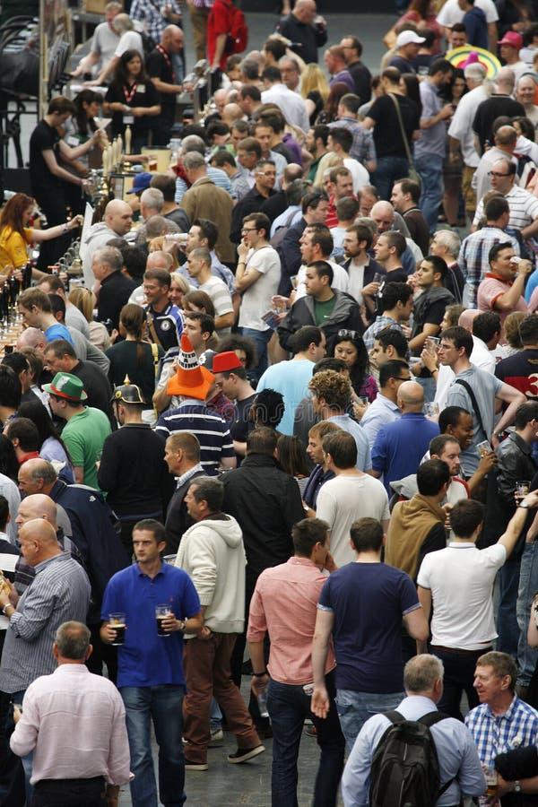 Большой великобританский фестиваль пива, 2013 стоковые изображения