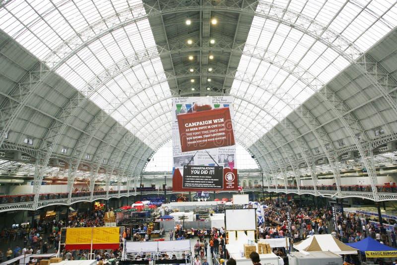 Большой великобританский фестиваль пива, 2013 стоковая фотография