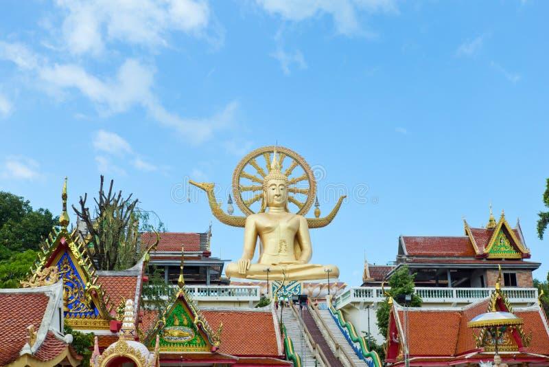 Большой висок Будды в Koh Samui, к югу от Таиланда стоковые изображения