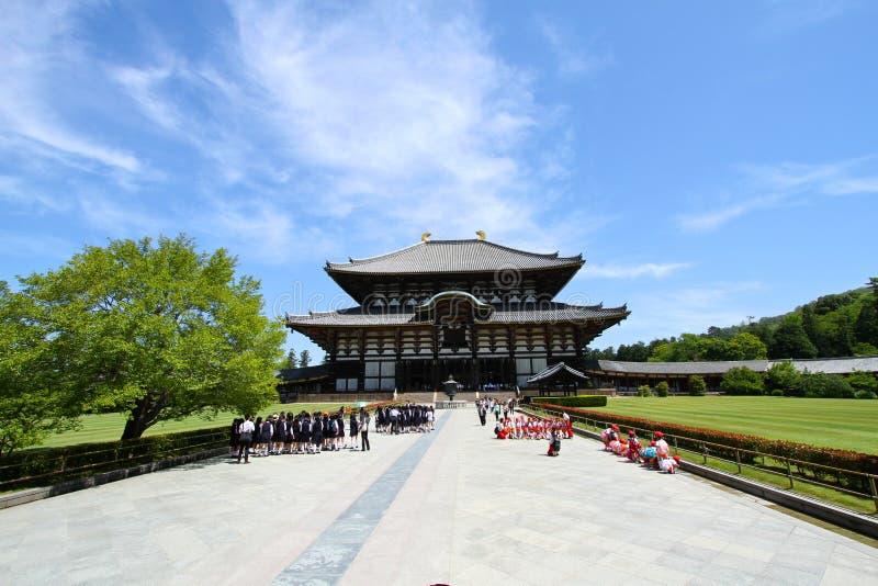Большой висок Японии стоковые изображения