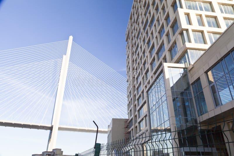 Download Большой висячий мост стоковое изображение. изображение насчитывающей ново - 33734255
