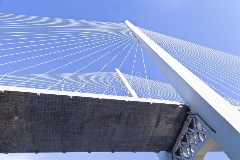 Download Большой висячий мост стоковое изображение. изображение насчитывающей деталь - 33734467