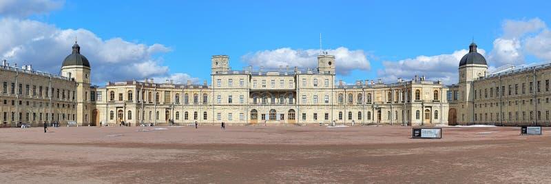 Большой дворец Gatchina, Россия стоковые изображения rf