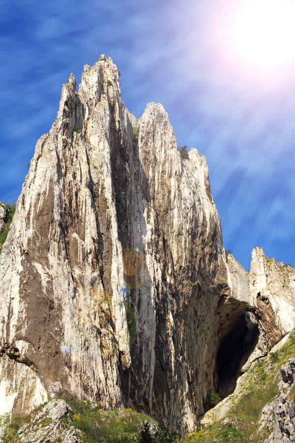 Большой гребень известняка стоковая фотография rf