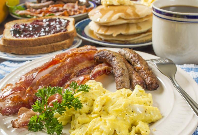 большой завтрак стоковые фотографии rf