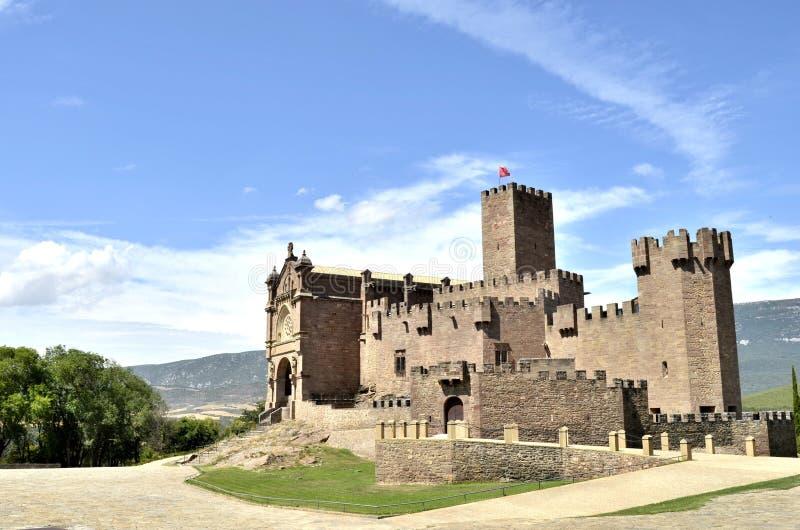 Большой замок стоковые изображения