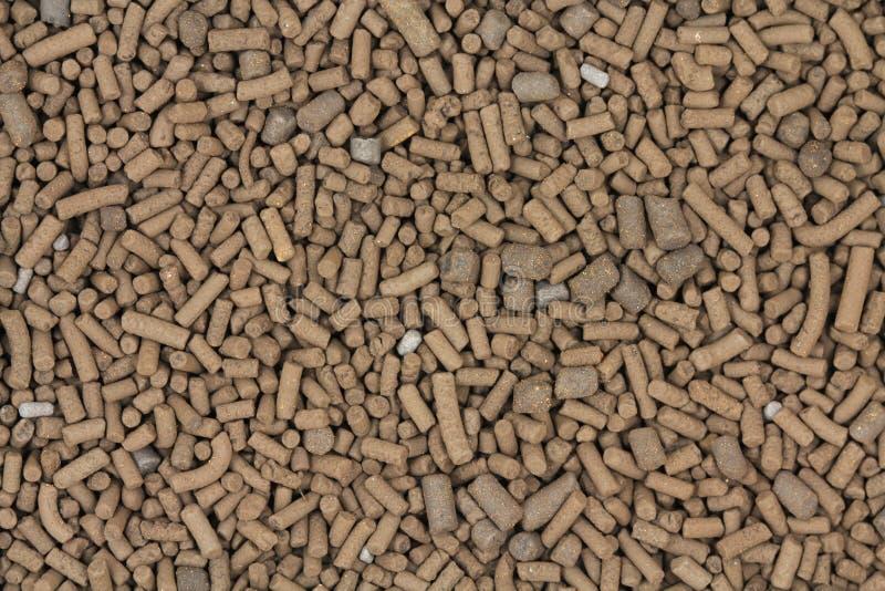 Большой коричневый катализатор pellets предпосылка стоковое изображение rf