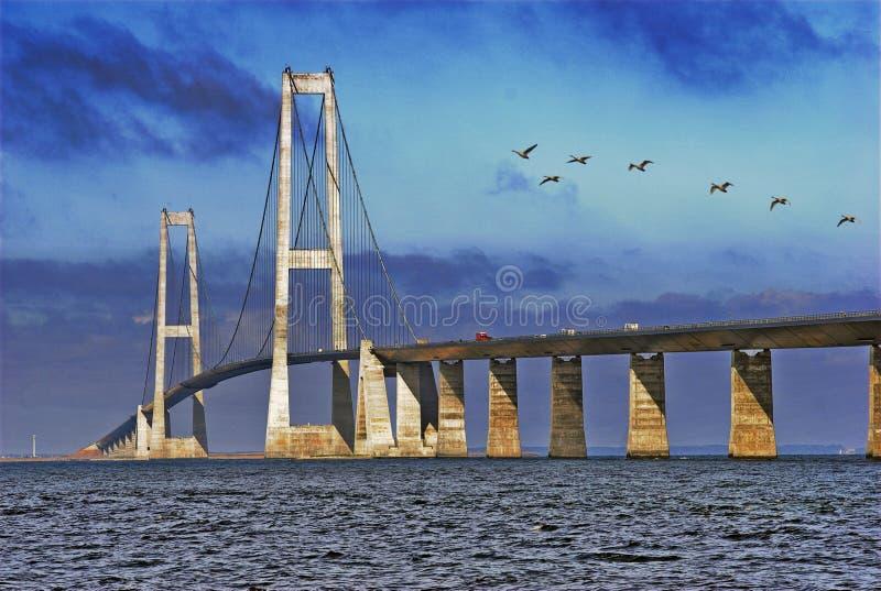 Большой мост пояса стоковое изображение rf