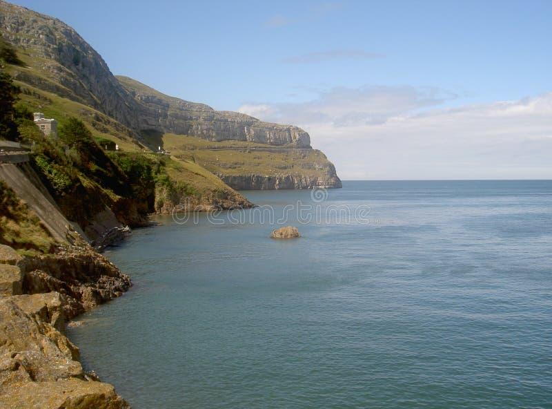 Большой полуостров Llandudno северное Уэльс Orme западный стоковая фотография rf