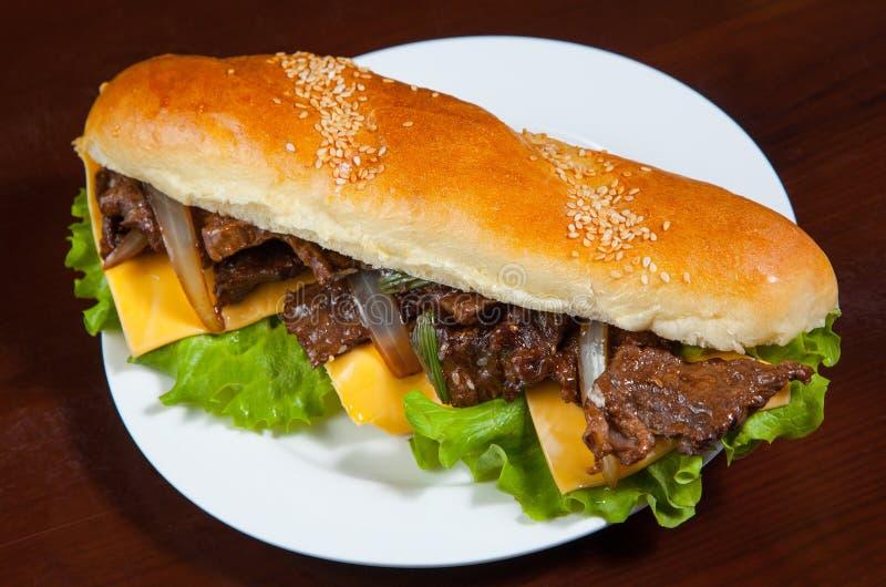 большой сандвич стоковая фотография