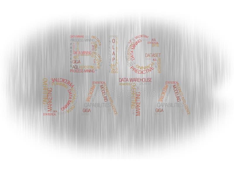 Большой серый цвет данных стоковое изображение rf