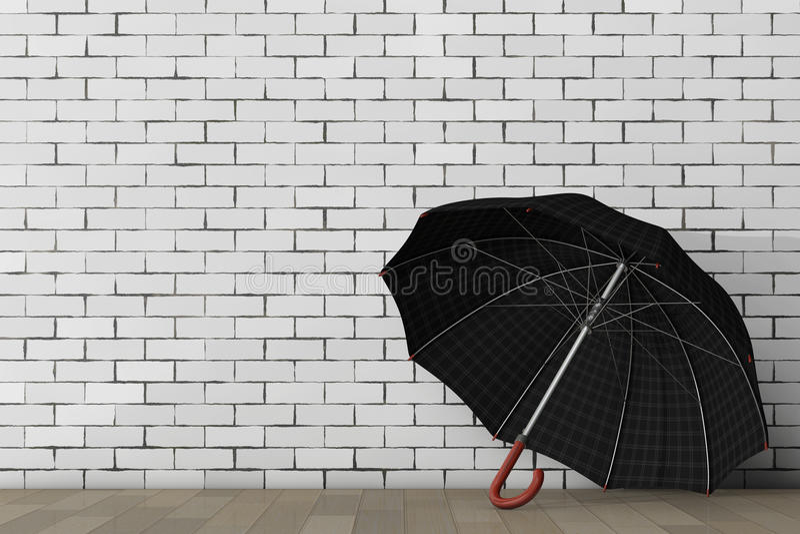 Большой современный роскошный зонтик перевод 3d бесплатная иллюстрация