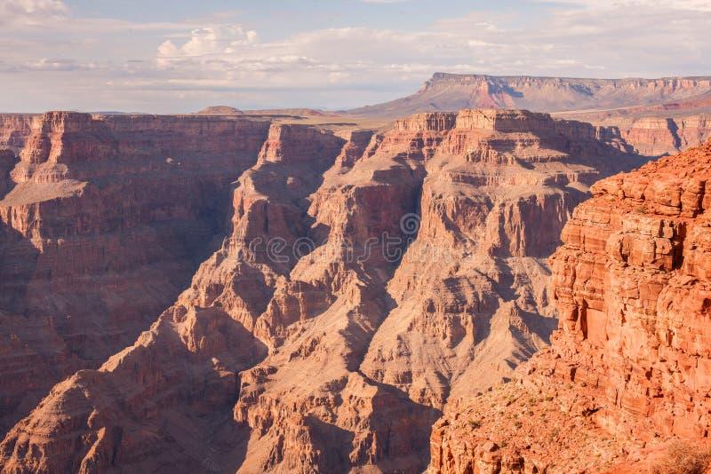 Большущий гранд-каньон, пункт гуана обозревает стоковые фото