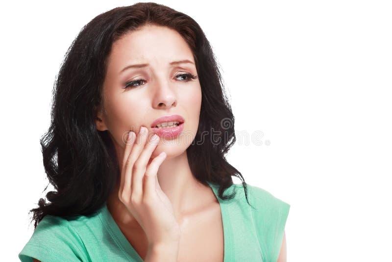 Боль зуба стоковые изображения