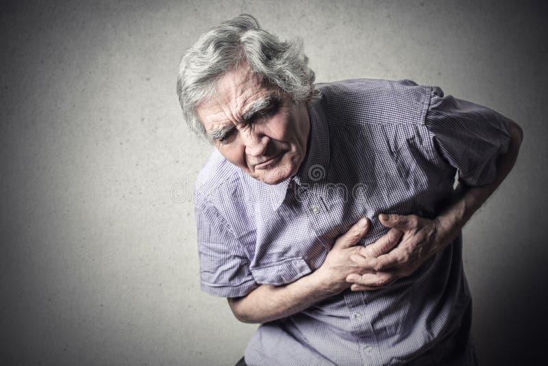 Боль сердца стоковое фото rf