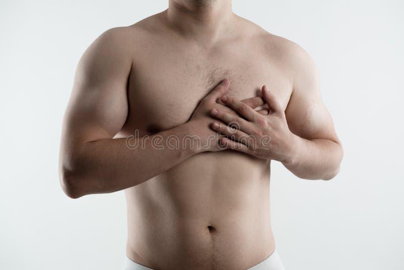 Боль сердца стоковое изображение rf