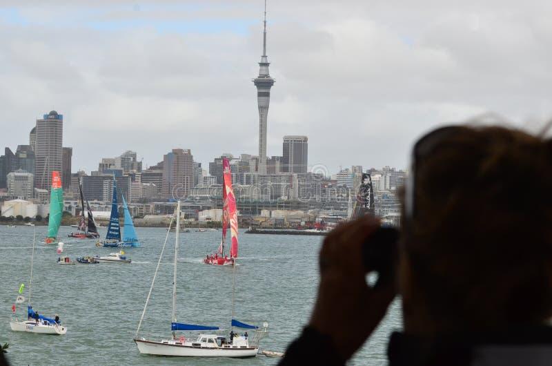 Бразилия возглавляет гонку океана к volvo стоковые фотографии rf
