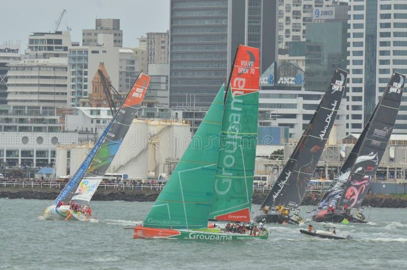 Бразилия возглавляет гонку океана к volvo стоковая фотография rf