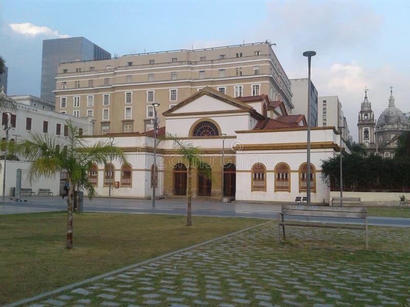 Бразилия - Рио-де-Жанейро - центр города - исторический - Каса Franca Бразилия - культура стоковое фото