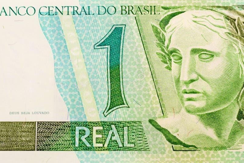 бразильские деньги стоковое фото rf