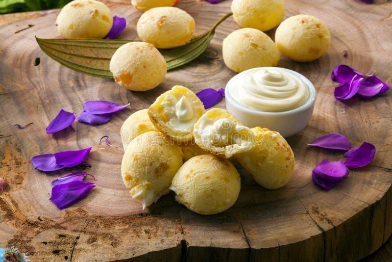 Бразильский хлеб сыра закуски стоковые фотографии rf
