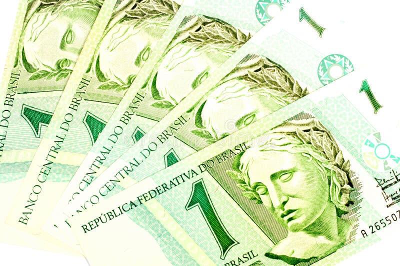 Бразильские старые деньги стоковые фото