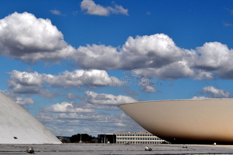 Бразильский конгресс стоковые изображения rf