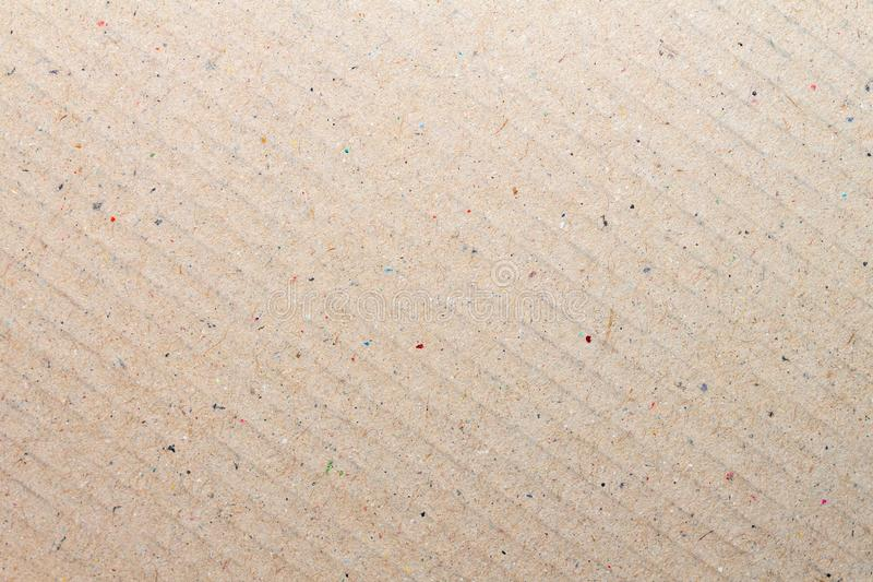 Брайн рециркулировал текстуру картона бумажную для предпосылки стоковые фотографии rf