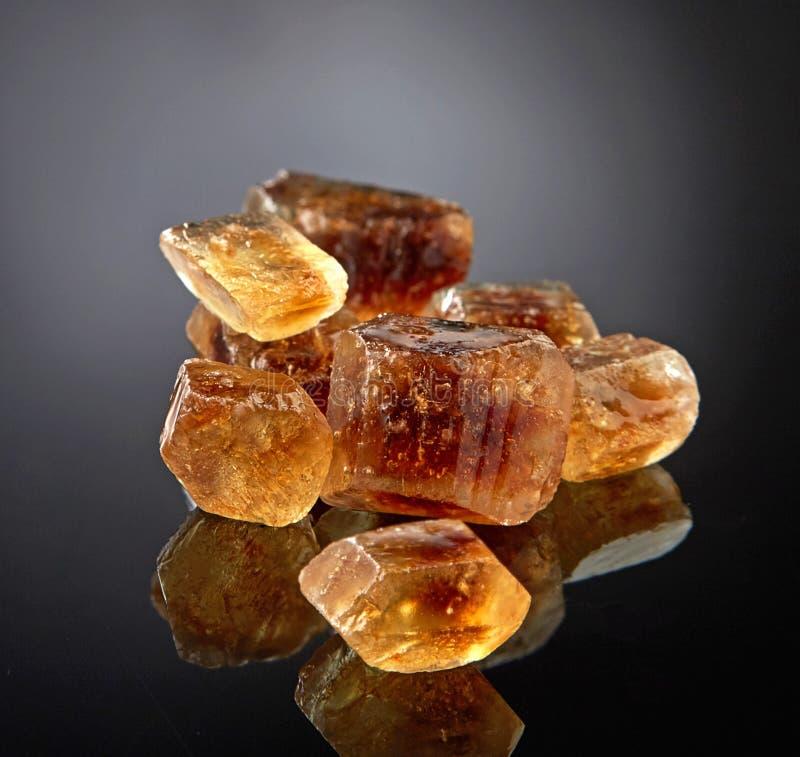 Брайн caramelized сахар стоковое фото rf