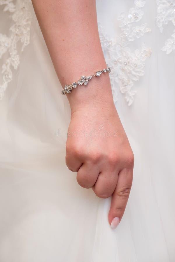 Браслет невесты стоковое изображение rf