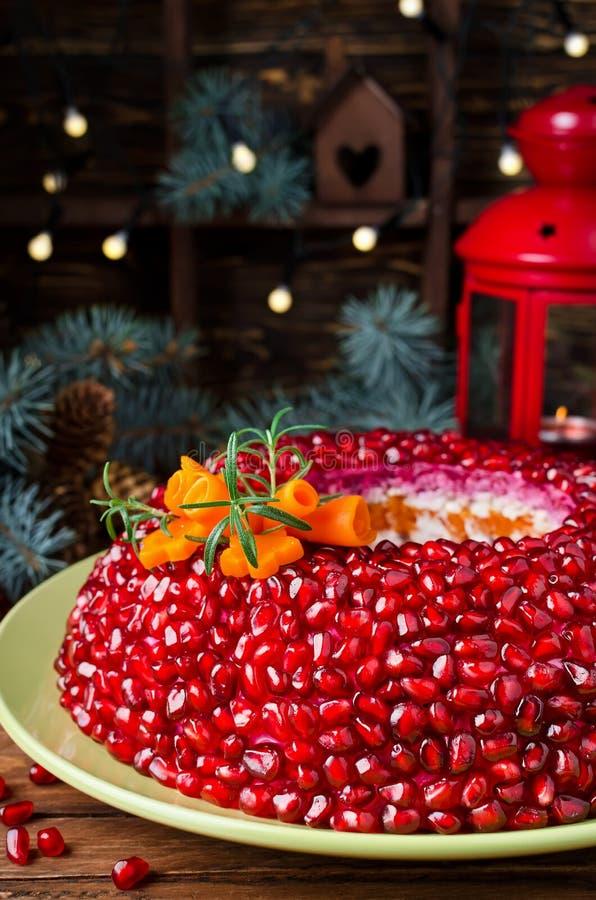 Браслет венисы салата на таблице праздника стоковые фото
