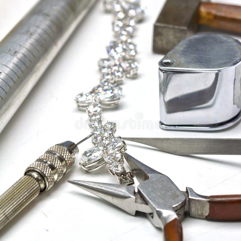Браслет диаманта стоковые фотографии rf